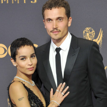 """Zoë Kravitz has been engaged since February: """"I was in sweatpants"""""""