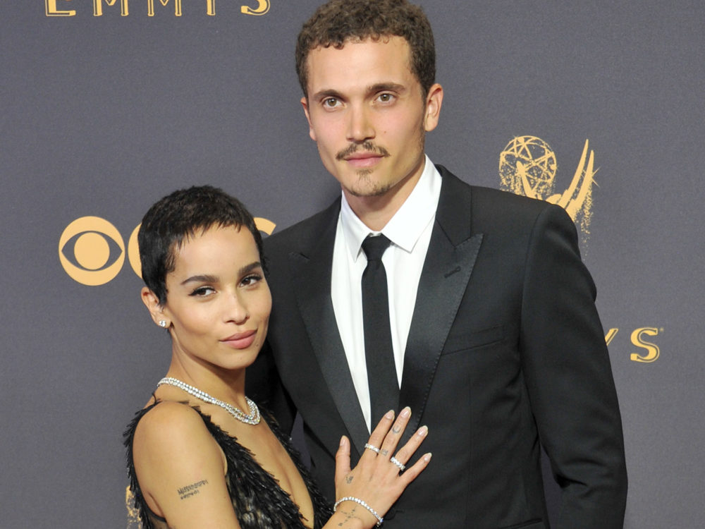 "Zoë Kravitz has been engaged since February: ""I was in sweatpants"""