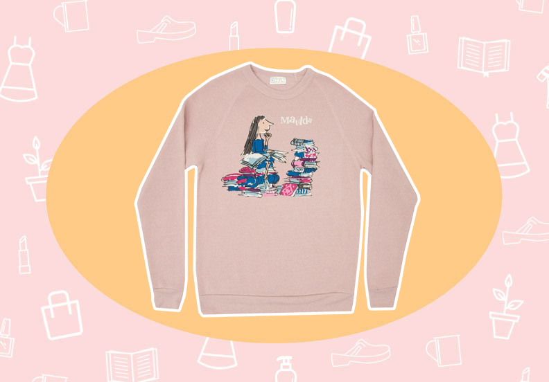 WANT/NEED: A <em>Matilda</em> sweatshirt in honor of the book that shaped my childhood, and more stuff you want to buy