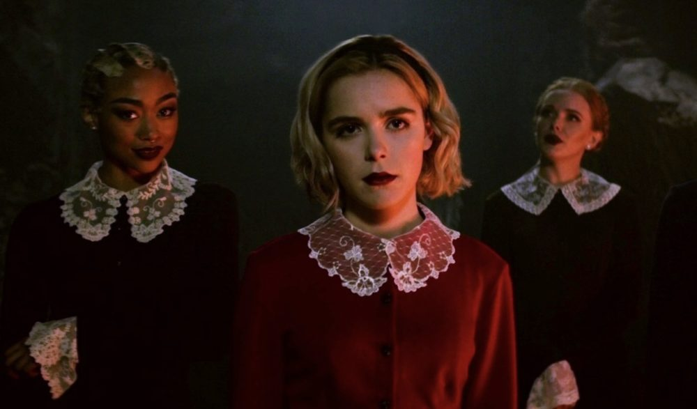 You probably missed this subtle <em>Riverdale</em> cameo in <em>Chilling Adventures of Sabrina</em>