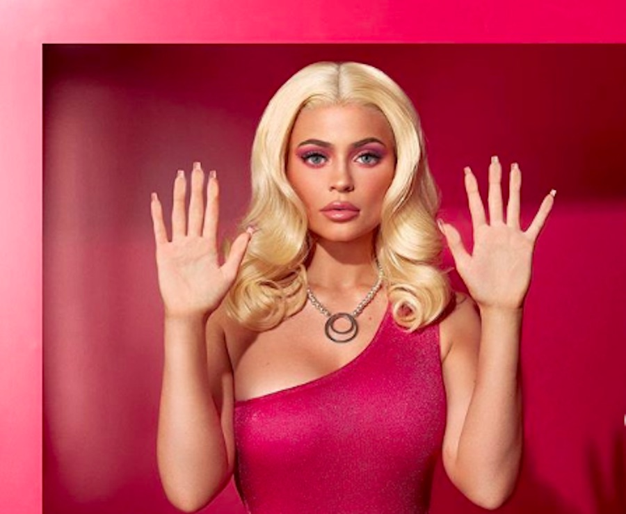 Kylie Jenner dressed like a Barbie doll for Halloween, and it was spot-on