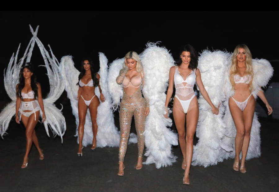 The Kardashian-Jenner sisters dressed up as Victoria's Secret Angels for Halloween, and you can copy the looks