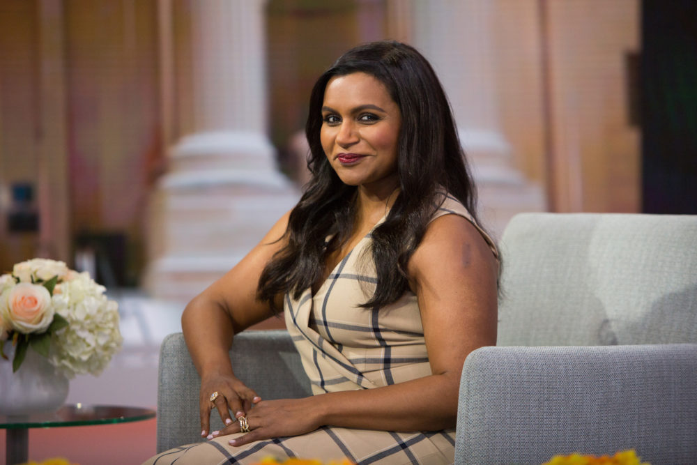 Mindy Kaling shared the first glimpse ever of her daughter in this adorable Halloween pic