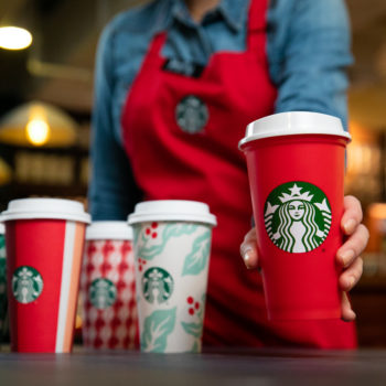 Starbucks just released its new holiday cup designs, and they're coming tomorrow!