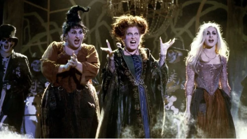 Freeform's 31 Nights of Halloween is showing <em>Hocus Pocus</em> 30 times, and TBH, we could watch them all