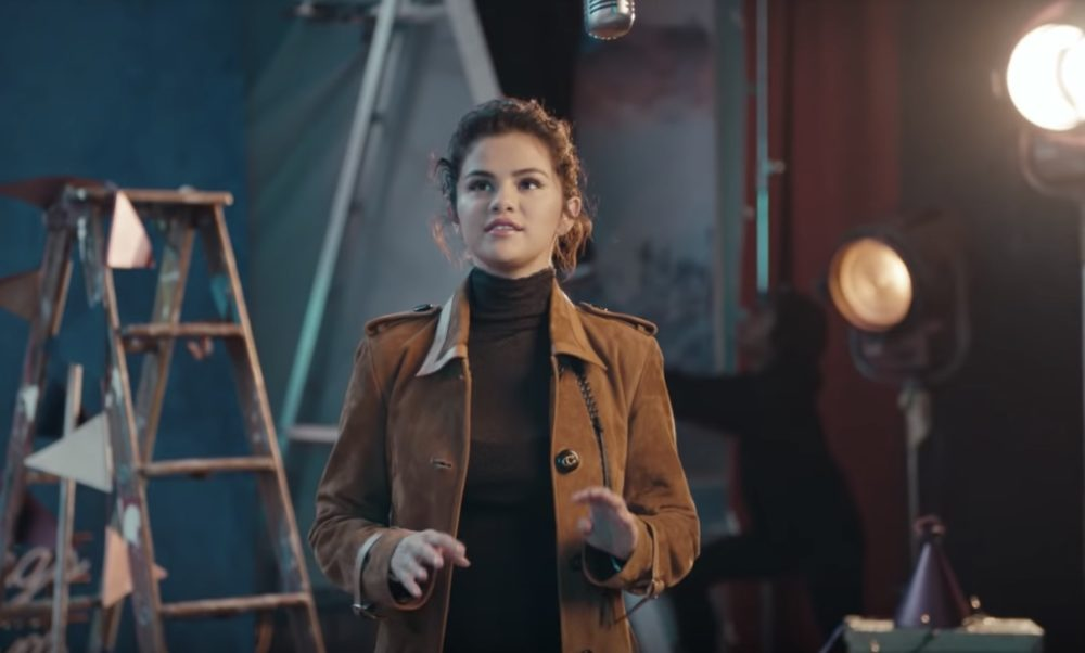 Selena Gomez auditions for her most surprising role yet in this adorable Coach holiday ad