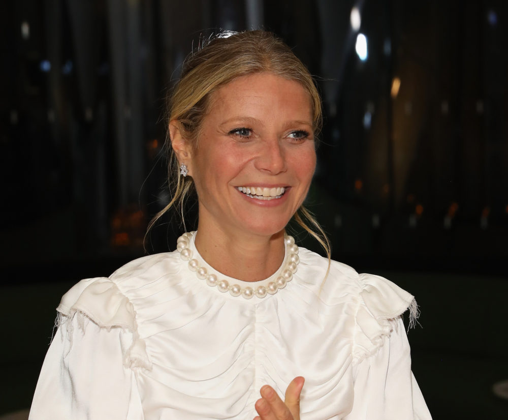 Gwyneth Paltrow's wedding photos are here, and we were not expecting this dress