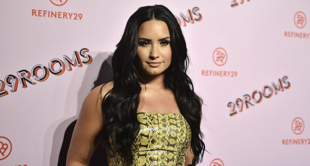 Demi Lovato was spotted out of rehab for the first time