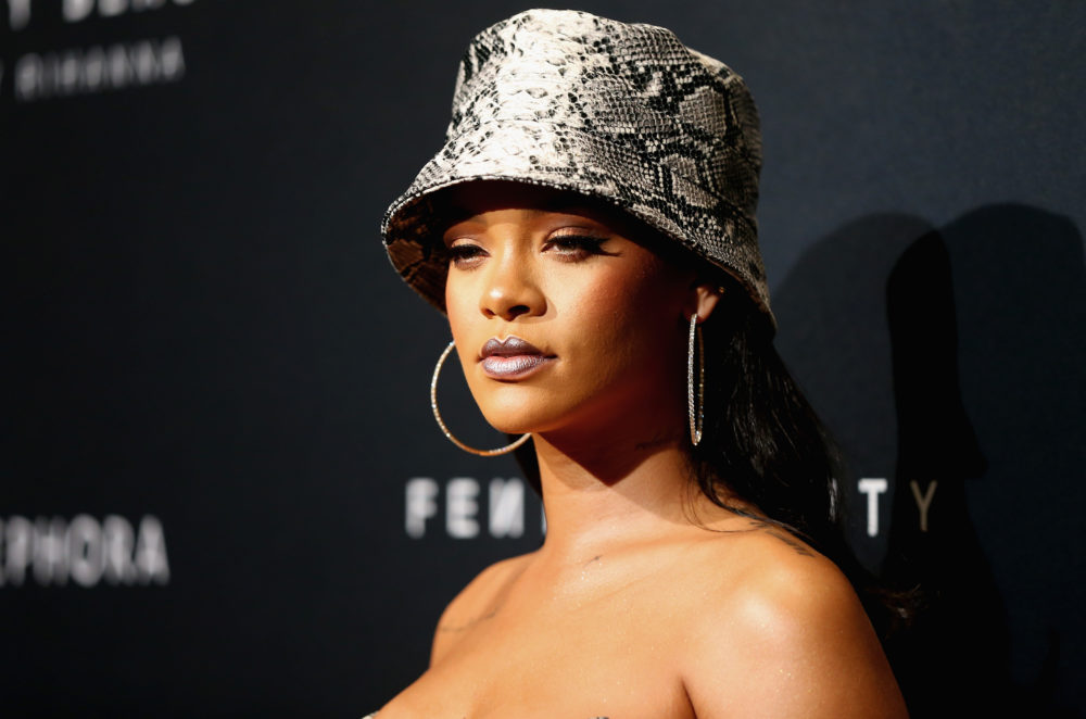 "Rihanna made it clear she doesn't want Trump using her music at his ""tragic"" rallies"