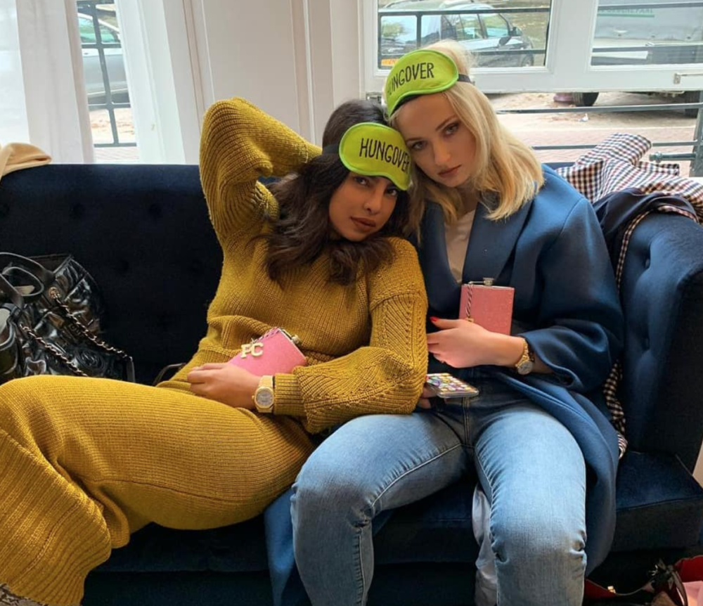 Priyanka Chopra celebrated her bachelorette party this weekend—and yes, Sophie Turner was there