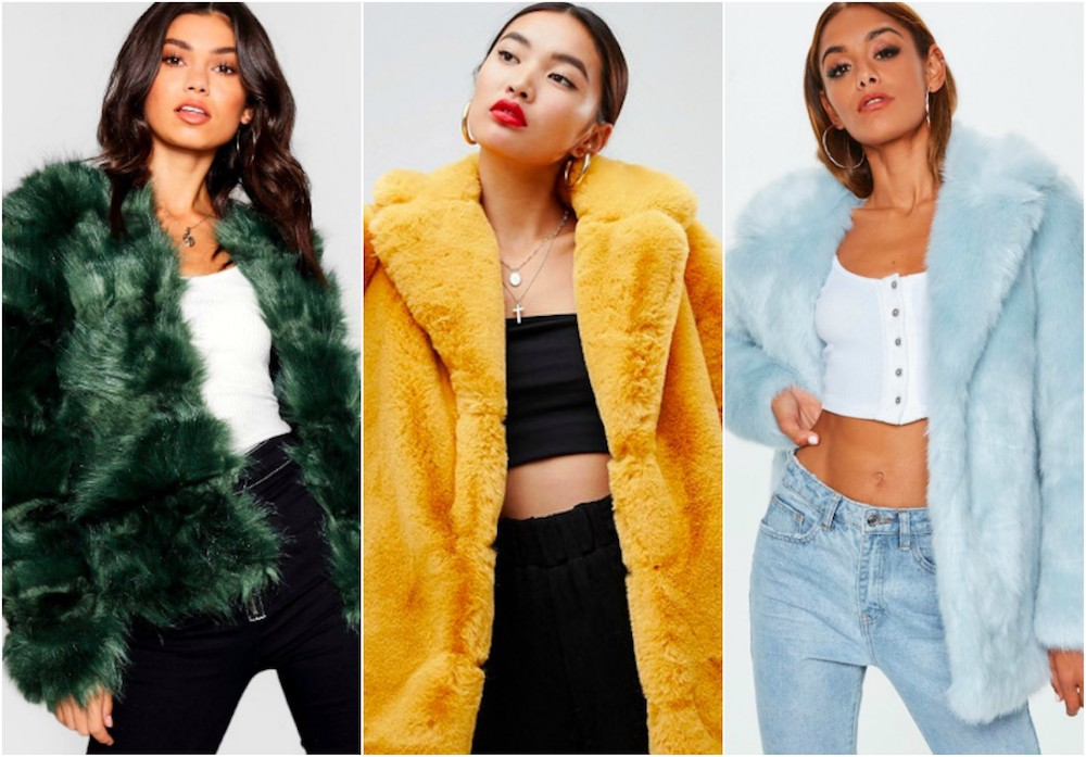 17 colorful faux fur coats that will spice up your outfits for the 'gram