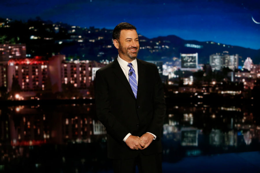 Jimmy Kimmel got a lot of people to confirm they went to the polls before Election Day