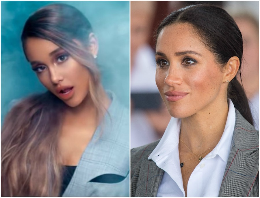 Ariana Grande Wore A Low Ponytail In Her Quot Breathin Quot Music