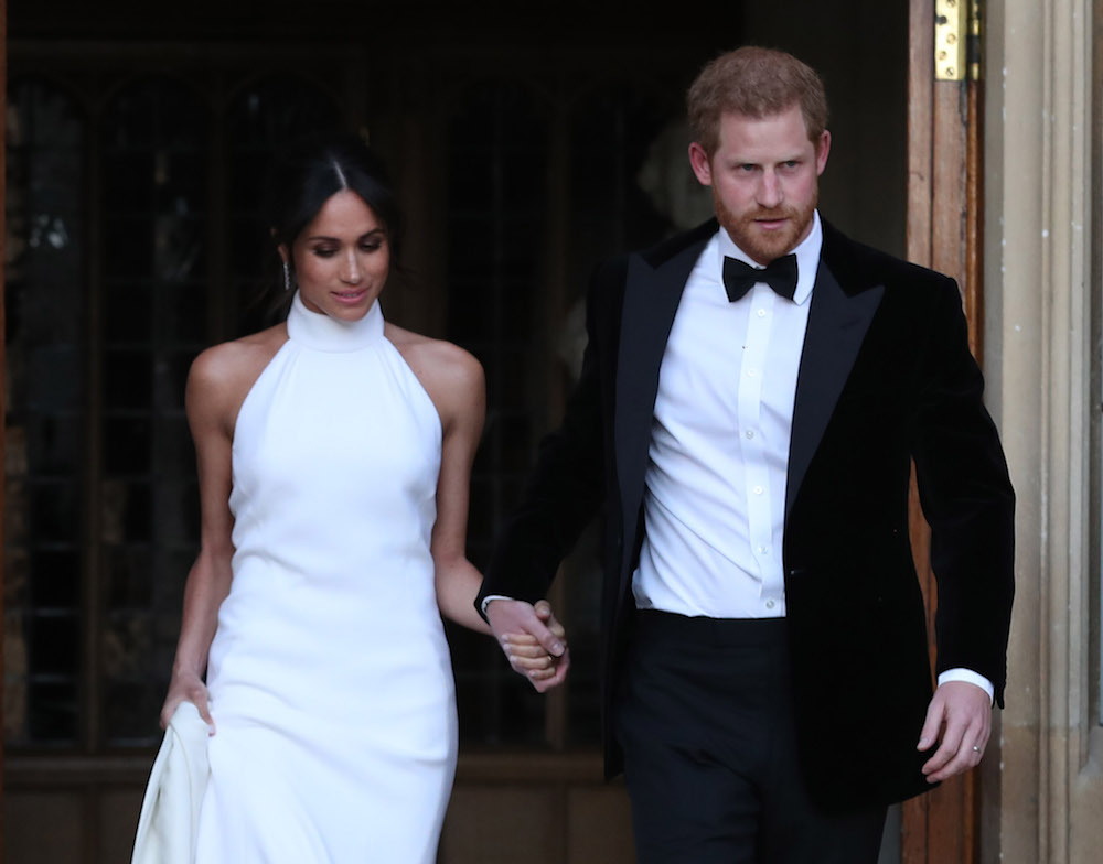 Fashion Nova made a replica of Meghan Markle's wedding reception dress for under $45