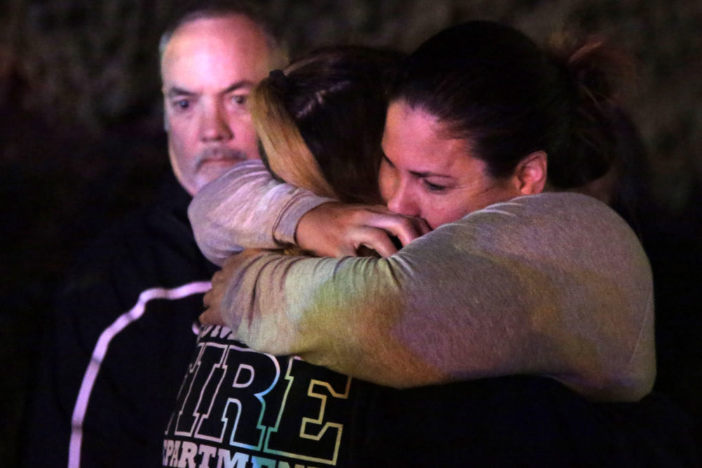 At least 12 people were killed in a mass shooting at a bar in Southern California last night