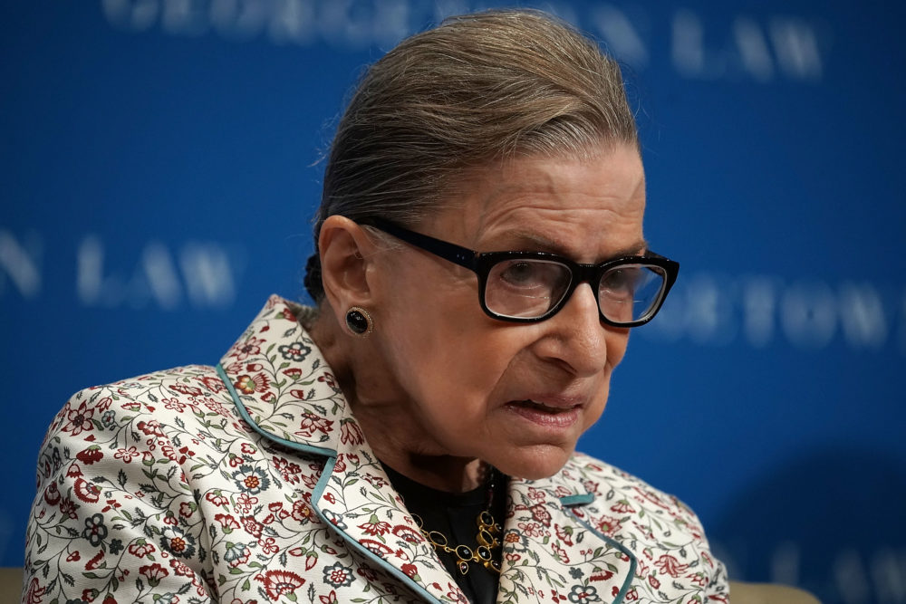 Ruth Bader Ginsburg has left the hospital and is already back to work—like the badass she is