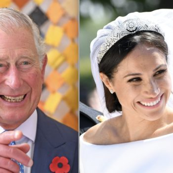 Prince Harry revealed why Prince Charles walked Meghan Markle down the aisle