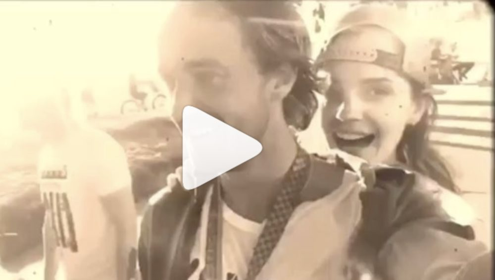 This video of Emma Watson and Tom Felton riding a skateboard together will officially make you a Hermione/Draco shipper