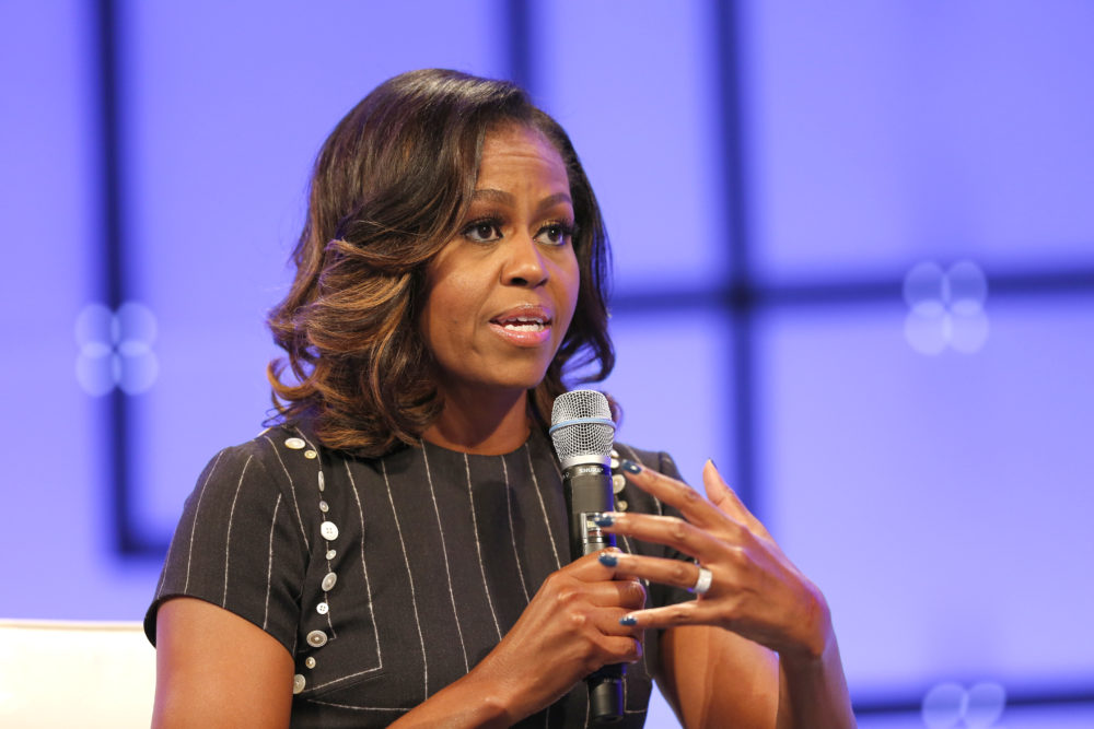 "Michelle Obama revealed why she'll ""never forgive"" Trump, and same"