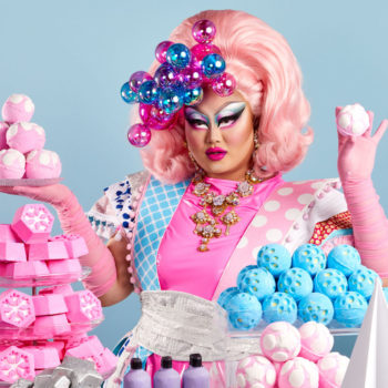 Lush Cosmetics teams up with <em>RuPaul's Drag Race </em>queens for its Merry DRAGmas campaign