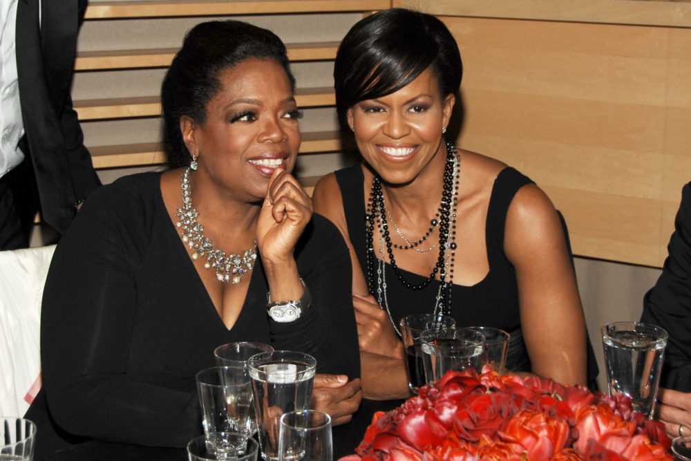 "This is the unexpected part of Michelle Obama's new book that Oprah says ""cracked me up"""