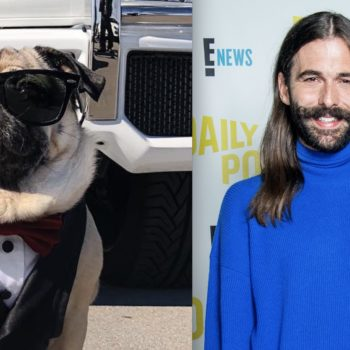 Doug the Pug was ring bearer at his parents' wedding, and Jonathan Van Ness officiated