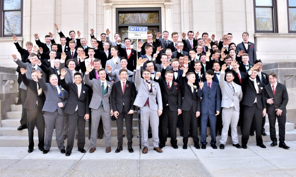Wisconsin high schoolers gave the Nazi salute in a prom photo, and we're disgusted