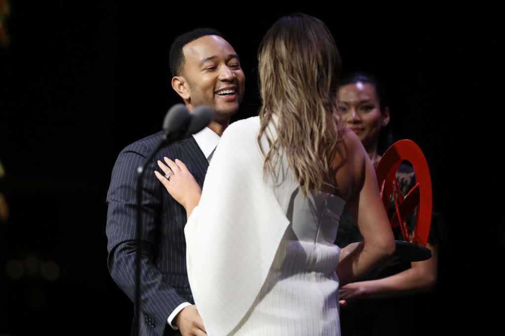 John Legend got super emotional talking about Chrissy Teigen