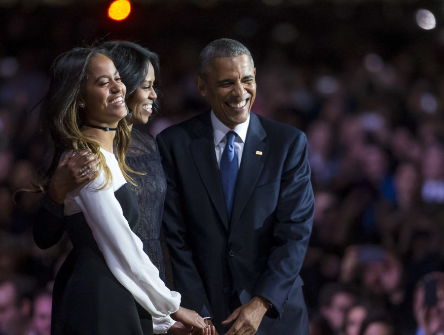 "Malia Obama asked her parents to ""be cool"" when her prom date picked her up at the White House"