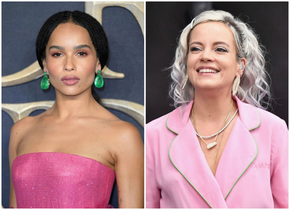Zoë Kravitz says Lily Allen gave her a non-consensual kiss
