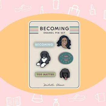 WANT/NEED: Merch from Michelle Obama's book tour, and more stuff you want to buy