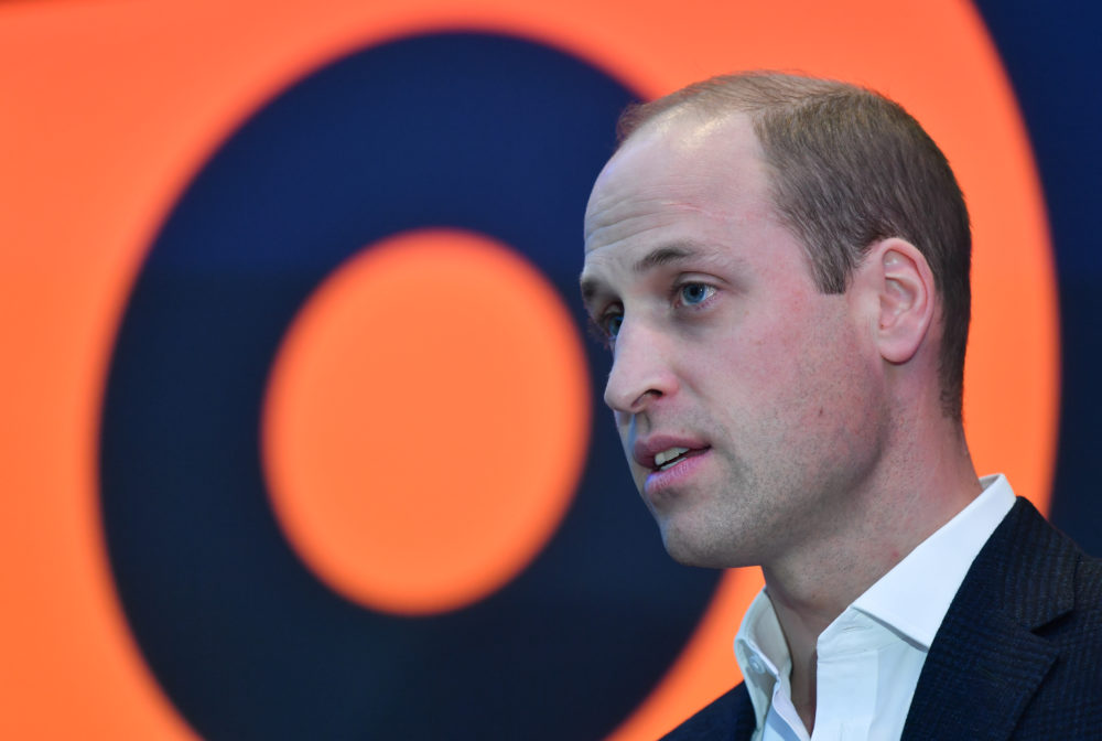 Prince William had some unusually harsh words for social media companies