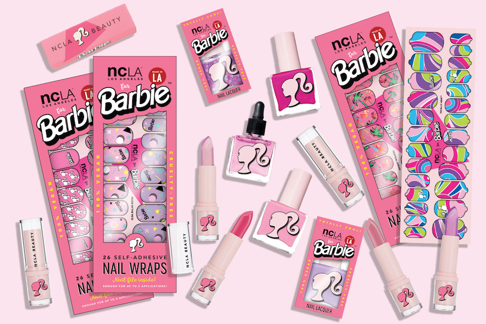 This Barbie-themed makeup collection will time-travel you back to the '90s