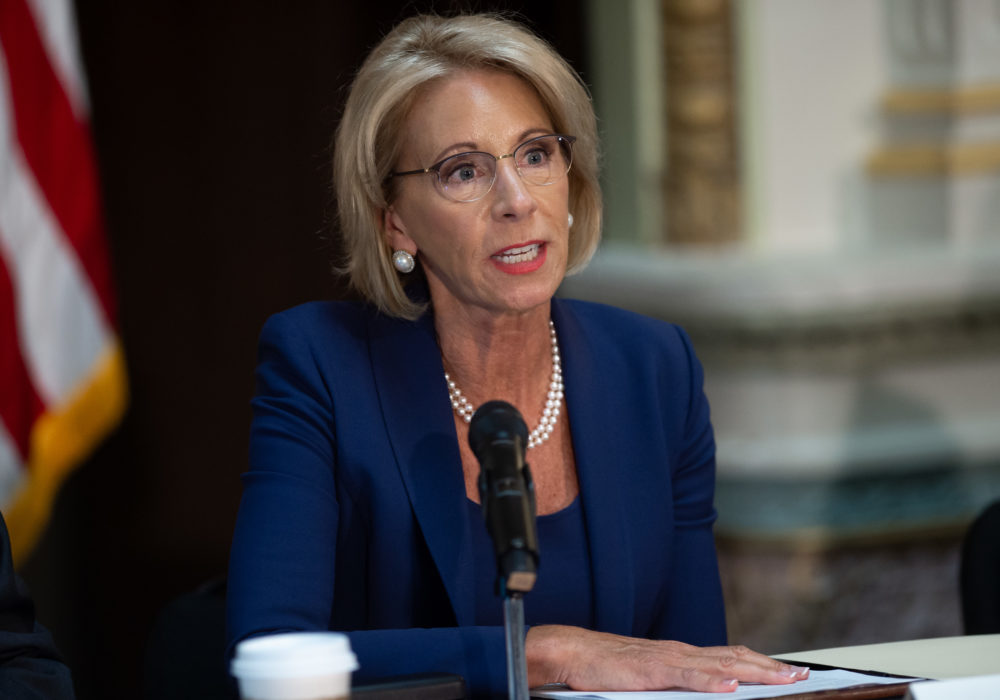 Betsy DeVos proposed new guidelines for sexual assault in schools—and they protect the <em>accused</em>