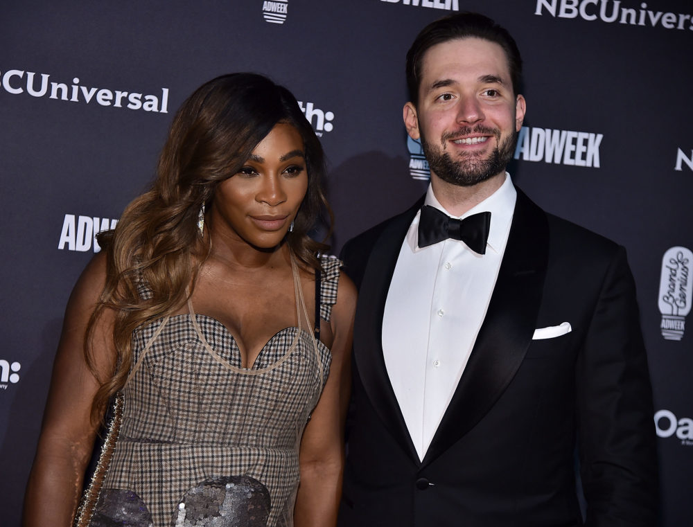 Alexis Ohanian's anniversary post to Serena Williams might make your heart explode