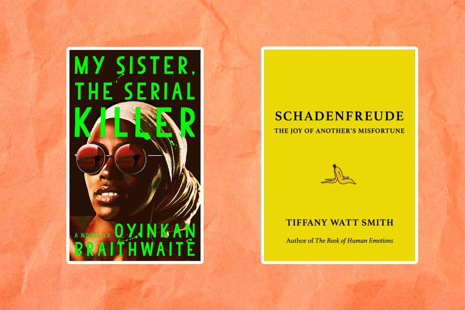 Books coming out this week: <em>My Sister, the Serial Killer</em>, <em>Schadenfreude</em>, and more