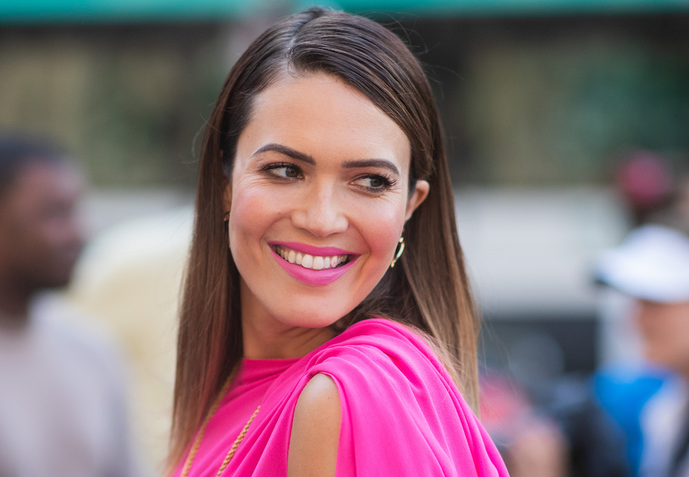 Mandy Moore wore a dreamy pink wedding dress, and this is how you can, too