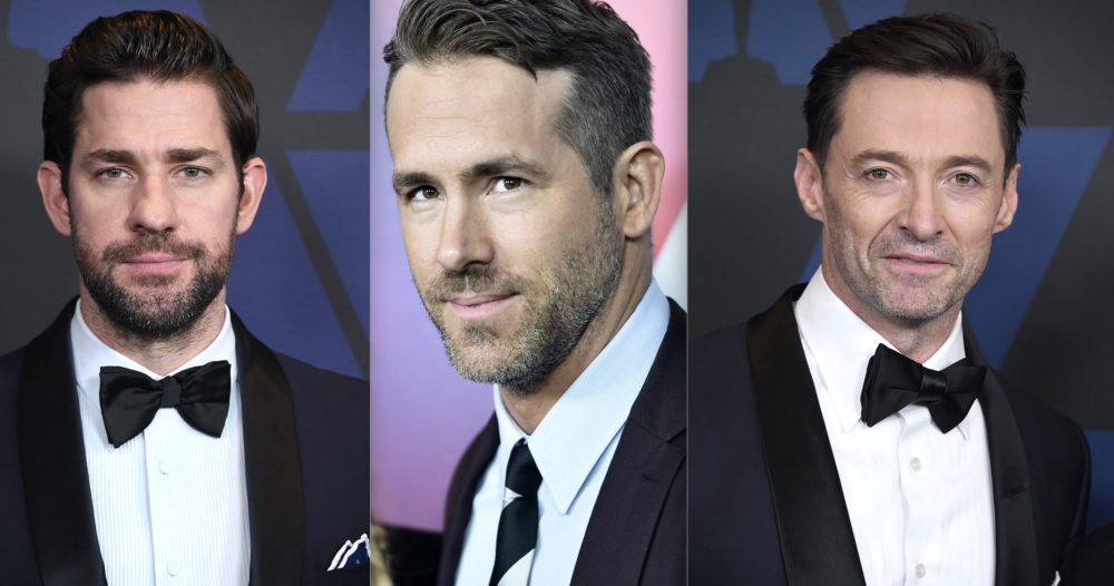 John Krasinski, Ryan Reynolds, and Hugh Jackman are currently trolling each other so hard on Twitter