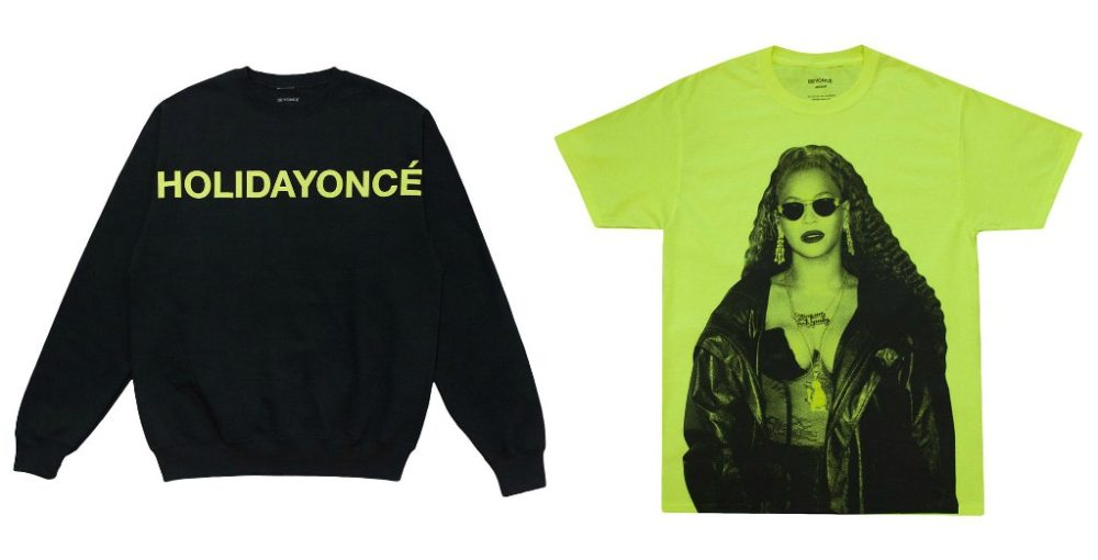 Beyoncé just released her holiday collection, so happy holidayoncé to us