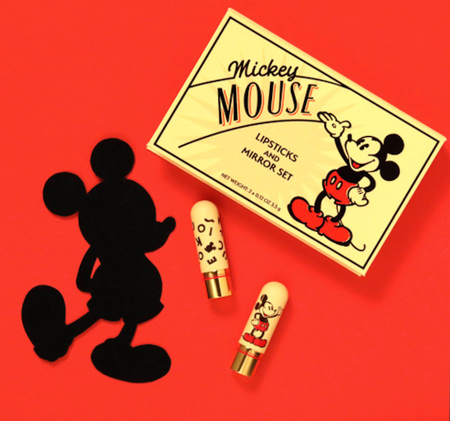 This Mickey Mouse makeup collection from Bésame Cosmetics will transport you to another era