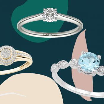 Because it's officially proposal season, here are 14 affordable engagement rings that won't break the bank
