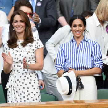 Meghan Markle and Kate Middleton just dressed like holiday twins, and can we get in on this?