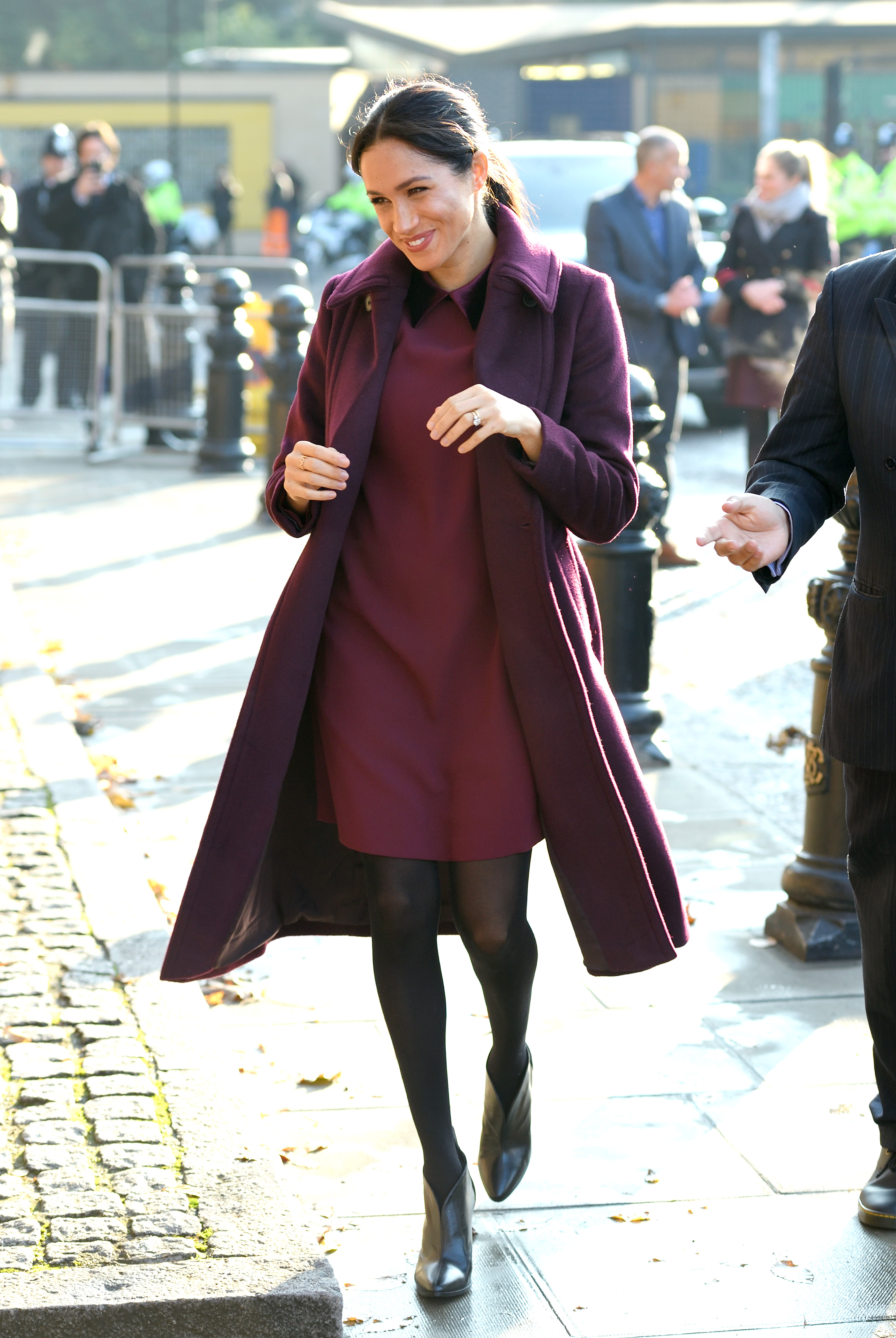 Meghan Markle And Kate Middleton Stepped Out In Matching