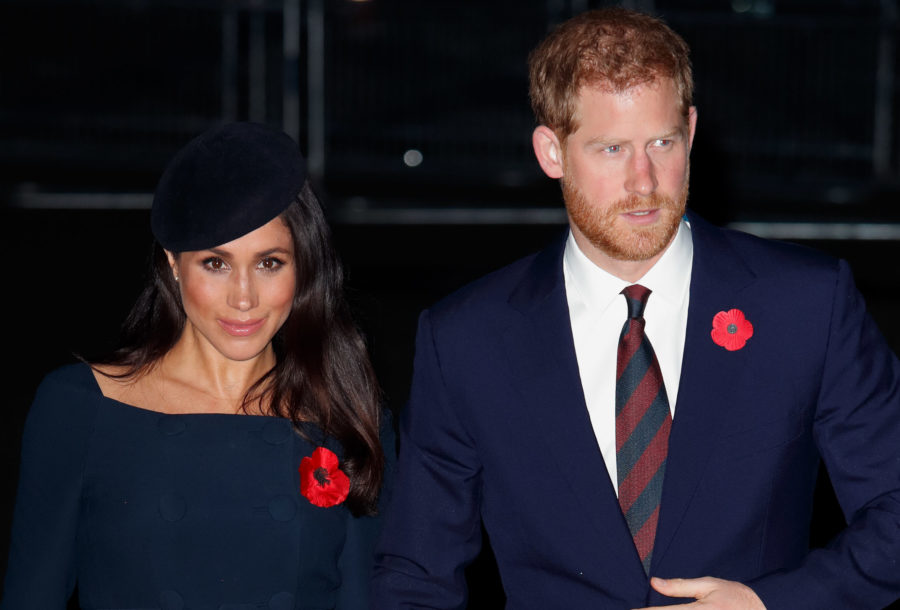 Prince Harry and Meghan Markle will spend this anniversary apart