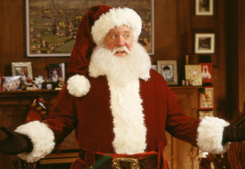 OMG: Tim Allen just revealed that the original <em>Santa Clause</em> script was WAY darker