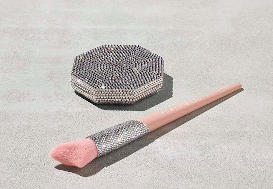 Fenty Beauty released a diamond-encrusted highlighter vault, because they want us to live our best lives