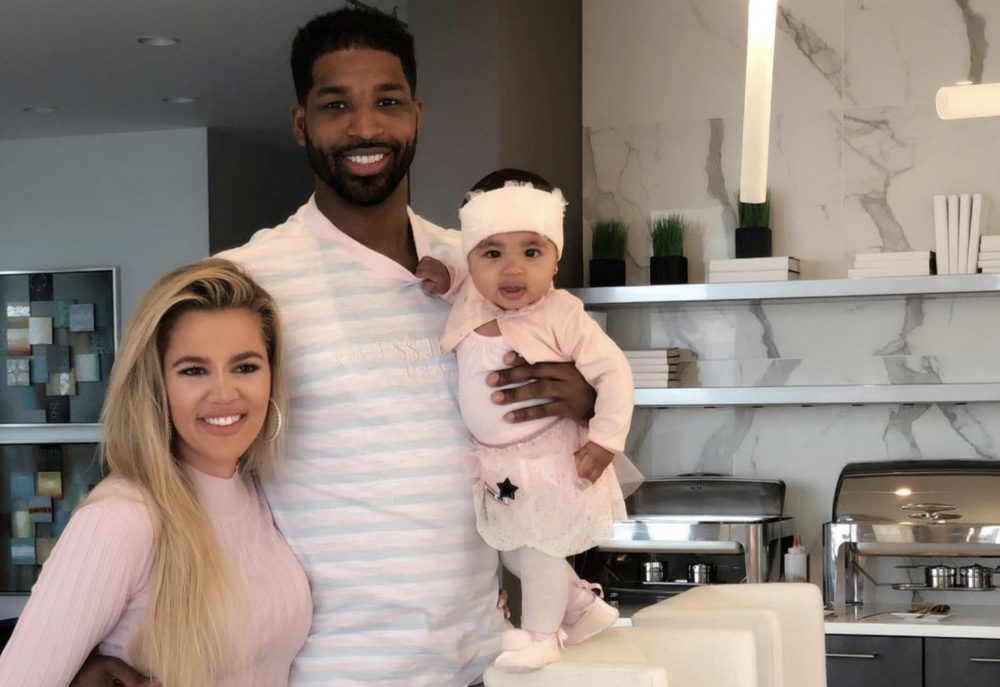 "Oh snap—apparently the Kardashian sisters are only ""faking"" nice with Tristan Thompson"