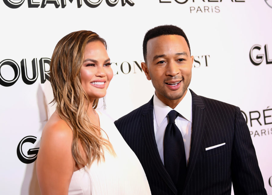 John Legend and Chrissy Teigen shot an entire fake '90s sitcom intro for their NBC special—and it's glorious