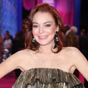 """Lindsay Lohan is """"flattered"""" by Ariana Grande's <em>Mean Girls</em>-inspired video, thank u very much"""