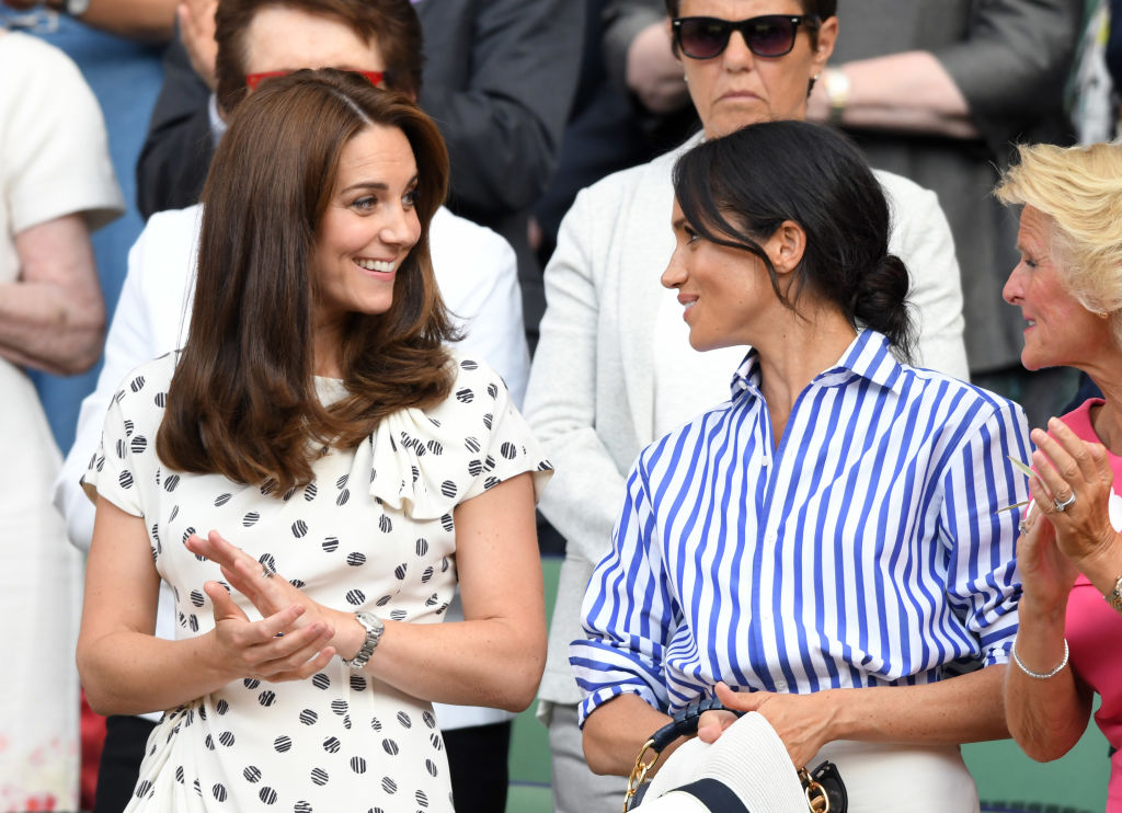 Kate Middleton seems genuinely excited for Meghan and Harry—so the rumors need to stop